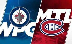 Match canadien vs Jets!!