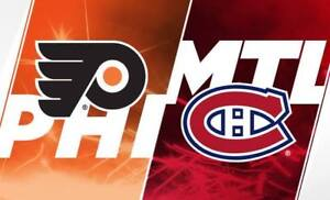 CANADIENS VS FLYERS ROUGE SAMEDI LE 19 JANV.(2x101-2x114)