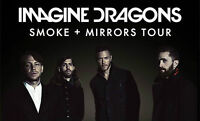 Imagine Dragons and Metric, Montreal July 3rd - Floor Tickets