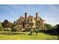 Night Services Assistant offering reception & portering services in this 4 Star country house hotel