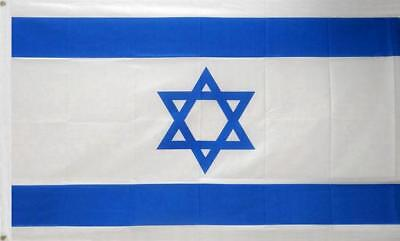 5' x 3' FLAG Israel National Large Flags 150 x90cm Arab Middle East Holy Land ft