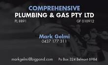 COMPREHENSIVE PLUMBING AND GAS PTY LTD Redcliffe Belmont Area Preview