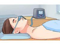 sleep apnea restart breathing - special exercise with PAP machine! Richmond