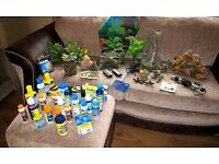 AQUARIUM/FISH TANK ACCESSORIES NEW AND USED