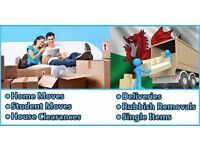 24/7 man and van hire house office home flat move and Rubbish removals packing relocation,services