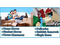 24/7 Man and Van Hire House Office Rubbish Removals Furniture Delivery Packing Moving Handyman