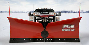 WESTERN SNOW PLOWS FOR SALE (0% FINANCING)