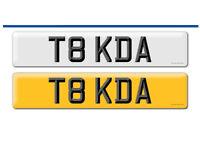 Private plate T8 KDA on retention