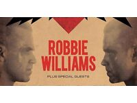 2x Robbie Williams Tickets, Principality Stadium, Cardiff *** LOOK - NEW PRICE***