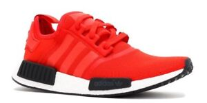 "*BRAND NEW* Adidas NMD R1 ""Red/black/white"" Size - 9.5"