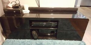 Black Glass TV unit Sutherland Sutherland Area Preview