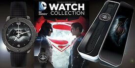 dc comics batman vs superman collectible mens watch