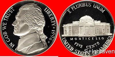 1994 S Jefferson Nickel Deep Cameo Gem Proof