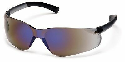 3 Pair Pyramex Ztek Blue Mirror Safety Glasses