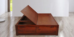 BEAUTIFUL QUEEN SIZE BOX BED FOR SALE