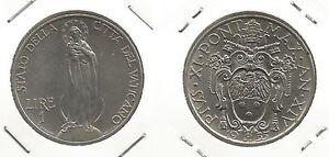 VATICANO - Papa Pio XI - 1 Lira 1935 (4) - Italia - Si accetta la restituzione solo se l'oggetto non corrisponde alla descrizione. - Italia