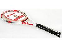 Brand new tennis racket Federer Control 103 - Wilson - Grip 4 3/8 (L3) - RRP £75