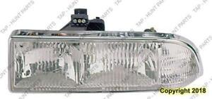 Head Light Driver Side Composite Chrome Trim High Quality Chevrolet Blazer 1998-2004