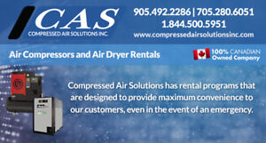 Compressor/Air Dryers Ready for Rent