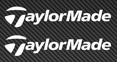 TaylorMade Golf Logo Vinyl Sticker Decal Car Truck Window taylor made