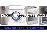 Wanted washing machines cash within the hour working only