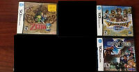 Nintendo Gameboy DS RPGs for sale