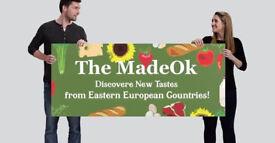 Eastern European food shop.