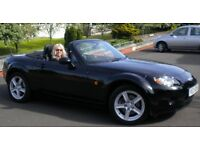 Mazda MX5 1.8 Hard Top & Soft Top Low Mileage Ex Condition