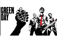 Green Day tickets Sheffield Arena 3rd July 2017