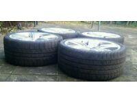 Full Set of 4 x 295 30 22 tyres