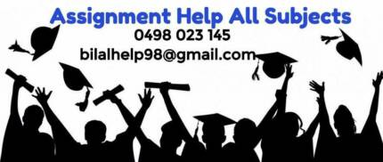 Assignment Help, Essays, Research Proposal, Thesis - All Subjects