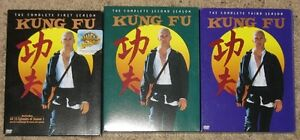 Kung Fu - Seasons 1,2,3 - DVD sets