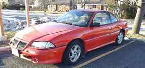 1995 Pontiac Grand Am Coupe (105000 km on engine and powertrain)