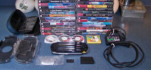 SONY PSP BUNDLE with 37 Games and Extras