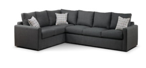Modern sectional sofa with Queen pull-out bed. $750 or B.O.