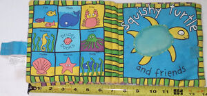 Squishy the Turtle & Friends Cloth Book
