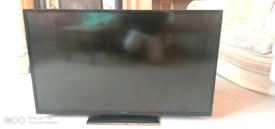 Hitachi Smart TV 48 Inches + Free Now TV Box