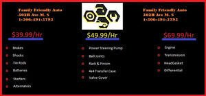 family---- auto the shop is a scam and dangerous on ur vehicles
