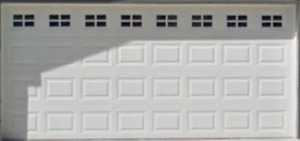16x7 R8 Insulated Garage Door with Hardware