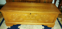 Lane Hope Chest Maple 27L/15W/17H(over 25 years old)