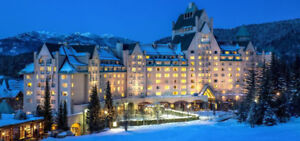 Resell 1 Fairmont Chateau Whistler, BC hotel room