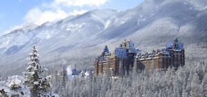 4 nights at Fairmont Banff Springs Hotel - Christmas Gift Idea!