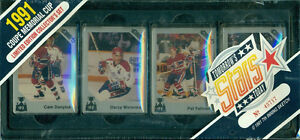 1991 MEMORIAL CUP ... FACTORY SET ... with FELIX POTVIN ... MVP