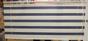 "Used 1"" aluminum blinds 54""x25"""
