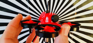 Beginner fpv racing micro drone . Amazing little fast quadcopter