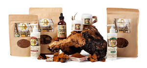 Certified Organic Chaga Mushrooms