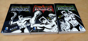 Batman: The Jiro Kuwata Batmanga Volumes 1, 2 & 3  *BRAND NEW*