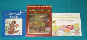 Seed, Plants and Flowers Primary Reading Books