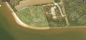PEI Private Waterfront, 7.59 Acre lot with 360ft.Water frontage