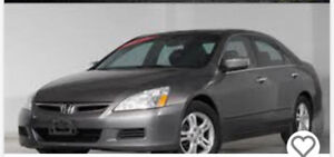2006 Honda Accord exl Sedan